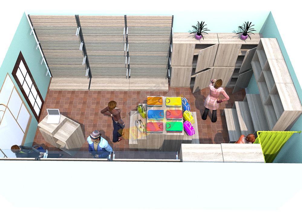 Кафе (152 м2) - проект одноэтажного дома из клееного бруса